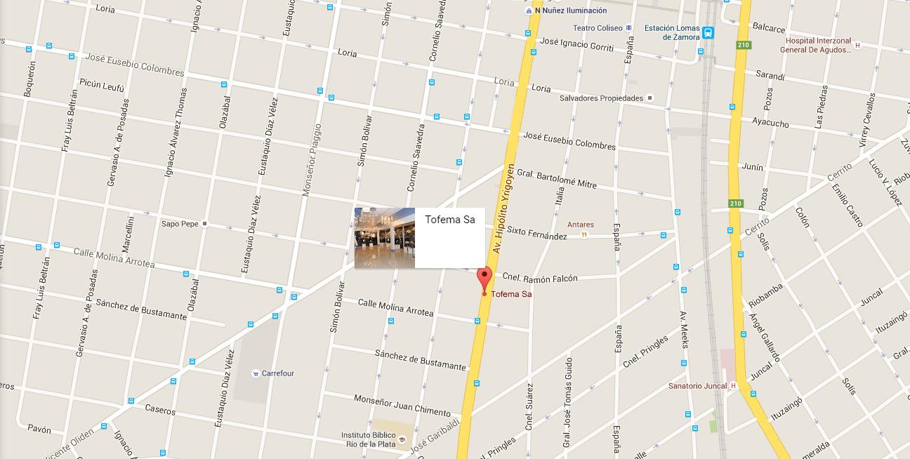 Click en el mapa para ver en Google Maps